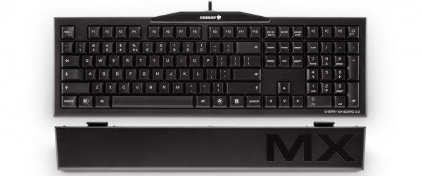 ABGELAUFEN [NBB.de] Mechanische Tastatur CHERRY MX-Board 3.0 MX-Brown inkl. Handballenauflage