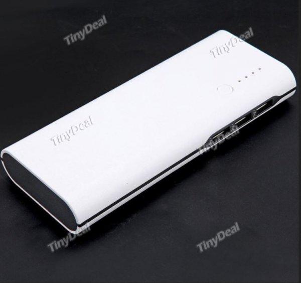 [China] Powerbank (fünf Farben) mit 20.000 mAh 3 x USB out inkl. VSK 9,41€