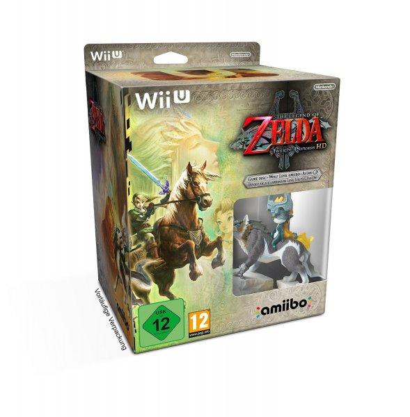 The Legend of Zelda: Twilight Princess HD Limited Edition [Amazon.de Platzhalterpreis: 79,99€ ] Vorbestellung Wii U