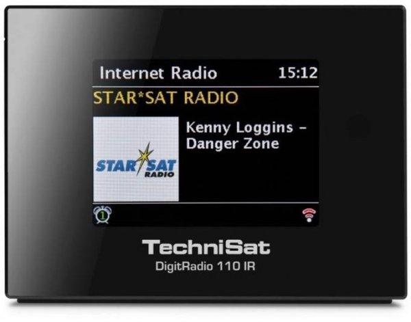 [Technik Profis] TechniSat DigitRadio 110 IR Internetradio schwarz - Bestand knapp -