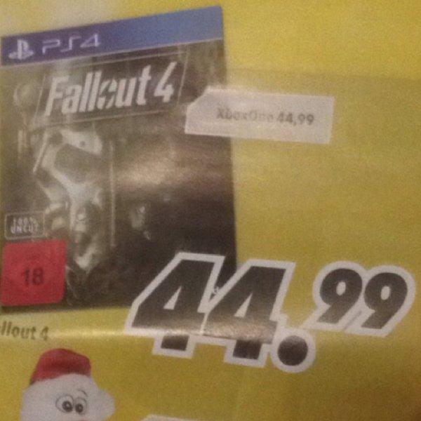 [MEDIMAX] FALLOUT 4 für 44,99€