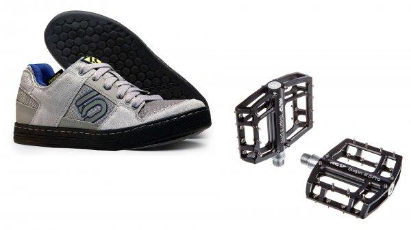 Five Ten Freerider MTB Schuhe + NC17 Sudpin III S-Pro