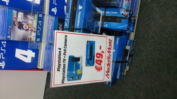 [Media Markt Herzogenrath] Playstation TV im Bundle mit Playstation Kamera