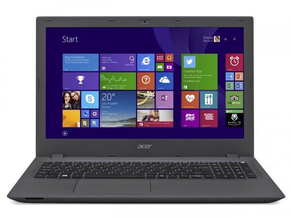 Acer Aspire E5-573-P8HR mit Intel Pentium 3556U - 2x 1,7GHz, 4GB RAM, 128GB SSD, 15,6 Zoll Bildschirm matt, ca.6h Akkulaufzeit für 349€ bei Notebooksbilliger.de