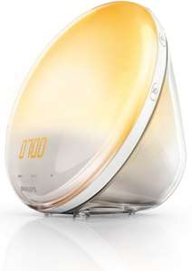 [Amazon.fr] Philips HF3520/01 Wake-Up Light (Sonnenaufgangfunktion, digitales FM Radio) weiß