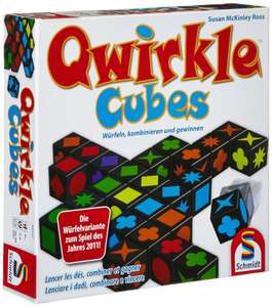 Qwirkle Cubes Würfelspiel für 12,99€ bei Amazon (Prime)