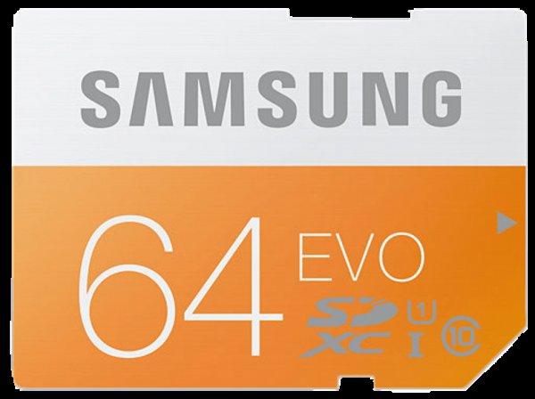 SAMSUNG SDXC Speicherkarte 64 GB MB-SP64D-EU, Class 10, 64 GB für 17 € inkl. Versand, @MM