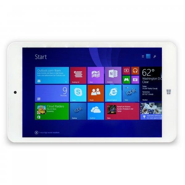 @NBB i.onik TW 8 Windows Pad HD weiß 16GB, Windows 8.1 mit Office 365 (Windows 10 Update)