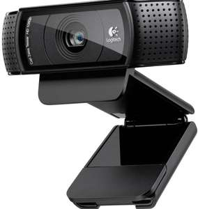 Logitech C920 HD Pro USB Webcam für 49,51 € bei Amazon.co.uk