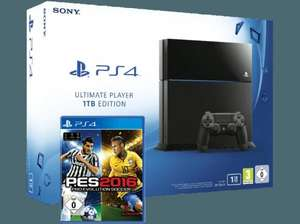 SONY PlayStation 4 Ultimate Player Edition mit 1 TB inkl. PES 2016 - Pro Evolution Soccer 2016