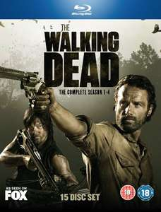 Walking Dead Bluray Box 1-4 amazon.co.uk