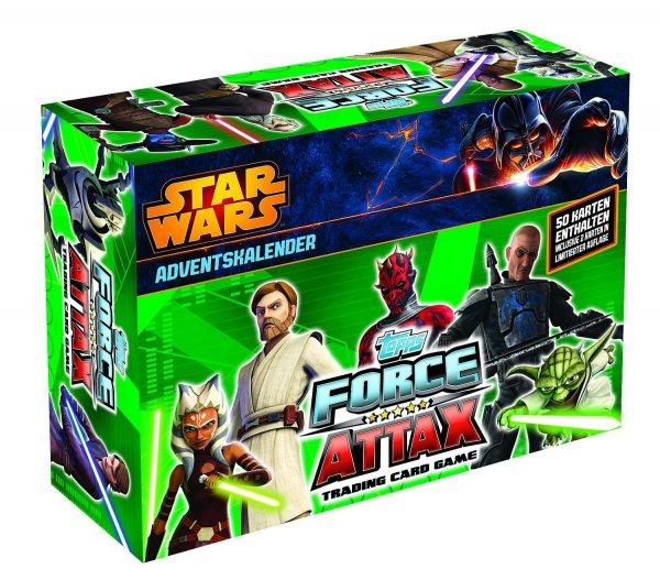 [Amazon Prime] Star Wars - Clone Wars Adventskalender mit 50 Sammelkarten fast 50% unter idealo@WHD