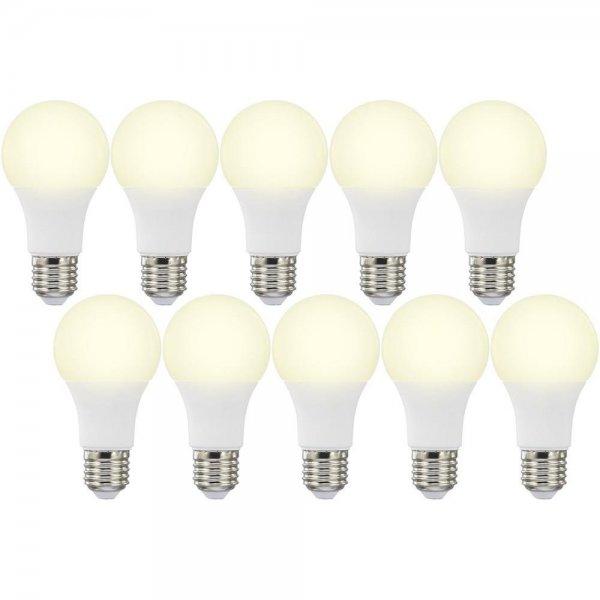 [Conrad] 10x Basetech LED E27 (10W, 820lm, 3000K = warmweiß, 80 Ra, 180°, EEK A+) für 24,44€