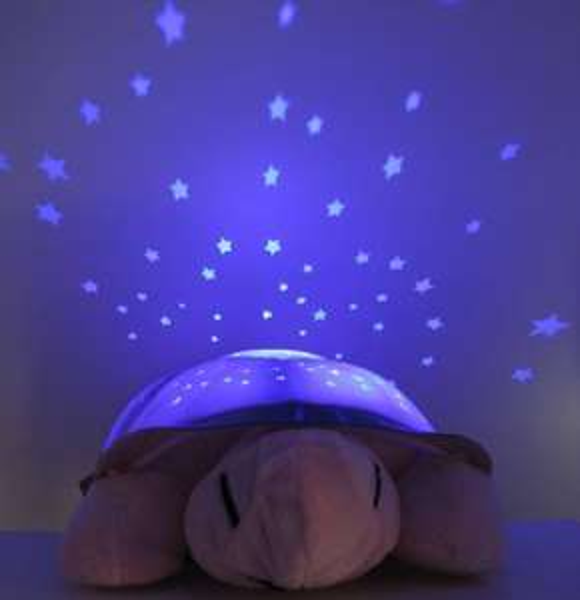Ebay - Nachtlicht Sterne Schildkröte grün/rosa