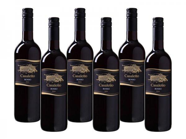 """Cielo e Terra™ - Rotwein """"Casaletto Rosso VdT"""" (6 Flaschen) ab €13,44 [@Weinvorteil.de]"""