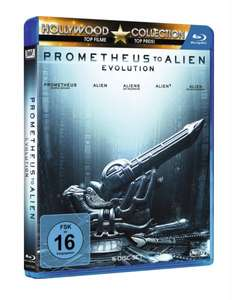 Prometheus to Alien: Evolution Box [5 Blu-rays] für 22,99€ bei Amazon.de & Saturn.de