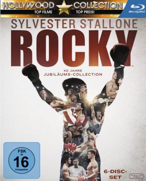 Rocky - Complete Saga [Blu-ray] für 22,99 € @ amazon.de (Prime) u. saturn.de (Abholung)