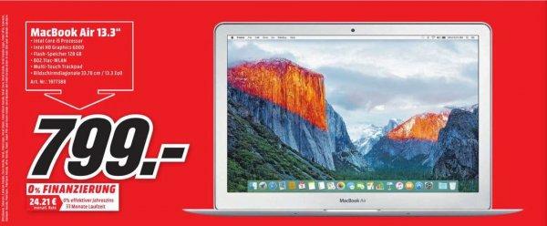 """[Lokal Köln] MacBook Air 13"""" 2015 (MJVE2D/A) 128GB für 799,-"""