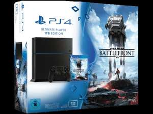Sony Playstation 4 1 TB inkl. StarWars Battlefron bei Hofer (AT) ab 08.12.2015