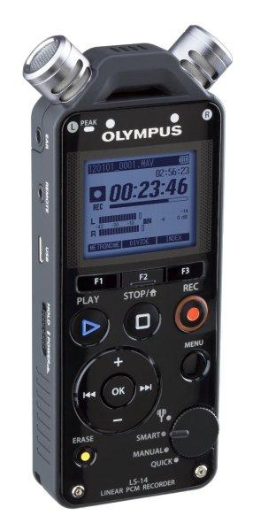 Olympus Digitaler PCM-Rekorder  LS-14 inklusive CL-2 (24bit/96kHz) für 138,- EUR inkl. Lieferung