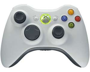 [online + lokal] Microsoft XBOX 360 Controller weiss  -Wireless-