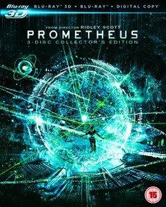 Prometheus - Dunkle Zeichen OT (2D Blu-ray, 3D Blu-ray, Bonus Bluray, UV Copy) für 10,09€ bei Zavvi.de