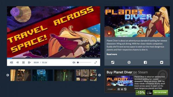 [Steam] Planet Diver @orlygift.com