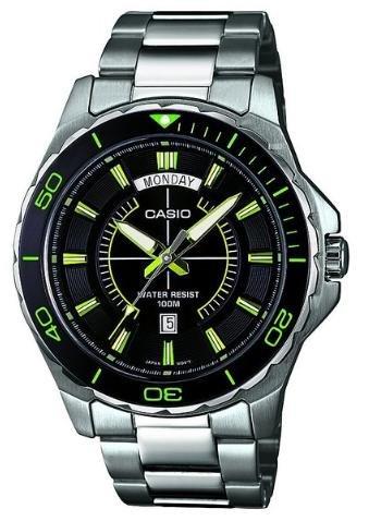 [Unger Uhren & Schmuck + Amazon] Casio MTD-1076D-1A3VEF Herren Edelstahluhr ab 54,99€ incl.Versand!