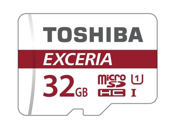 [Mediamarkt] Toshiba EXCERIA™ microSDHC 32GB Class 10 / UHS I inkl. SD-Adapter für 9€