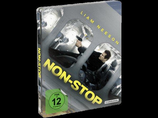 (mediamarkt.de) Non-Stop (Limited Steelbook Edition Blu-ray) für 7,90€ + 1,99€ VSK