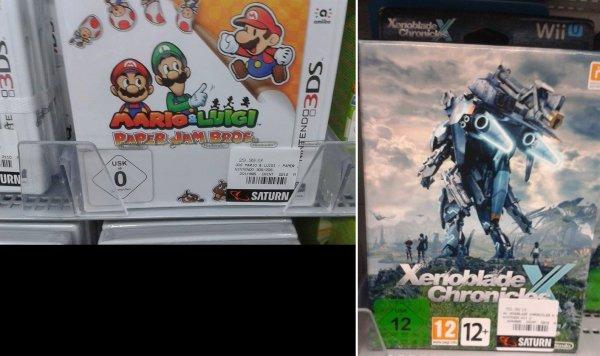 [Saturn Frankfurt am Main]Mario & Luigi: Paper Jam Bros. für 29,99€