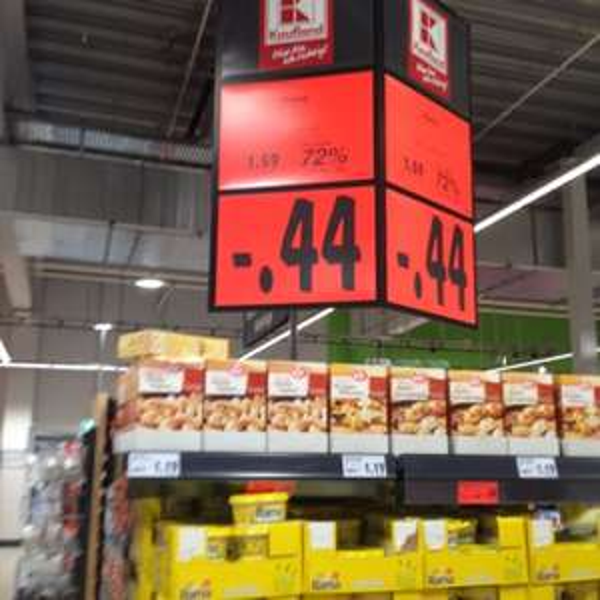 Kaufland Rama 500g 44 Cent