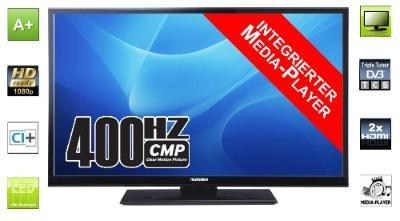 """Ebay Telefunken D49F283B3 LED Fernseher 49"""" Zoll 125cm TV Full HD DVB-T/C/S2 400Hz"""