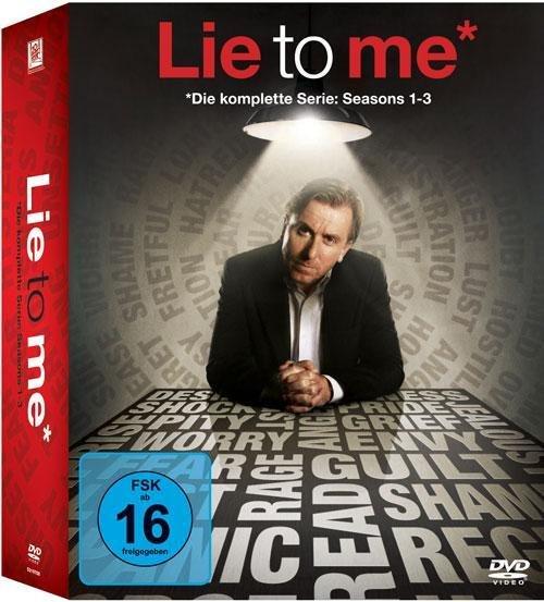Lie to Me - Complete Box (DVD) für 25,49€ bei Thalia.de