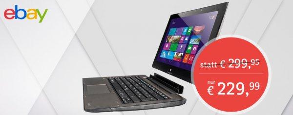 "[ebay] MEDION AKOYA P2212T Touch-Notebook 11,6"" 500GB, 64GB SSD, 4GB RAM"