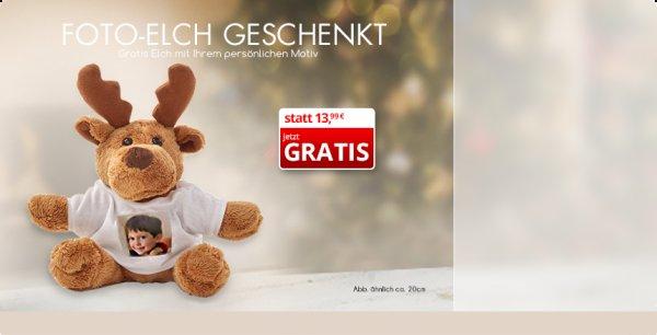 [myprinting] Elch mit Foto gratis plus 4,99€ Versand