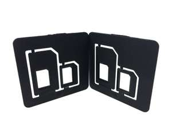Multi SIM-Karten Adapter Doppelpack für Nano SIM  ebay 1€