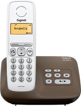 Gigaset AL230A Single Schnurlos Telefon mit Anrufbeantworter für 22€ bei Saturn.de
