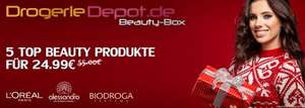 [Drogeriedepot.de] Beauty Box ähnlich wie bei DM oder Douglas für 28,94 oder 39,99