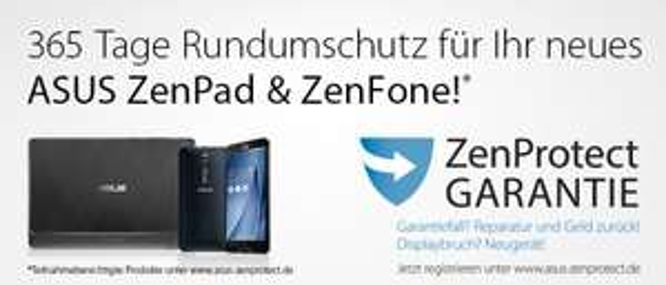 [ASUS] ZenProtect - Bei Defekt Kaufpreiserstattung & Tausch v. Gerät