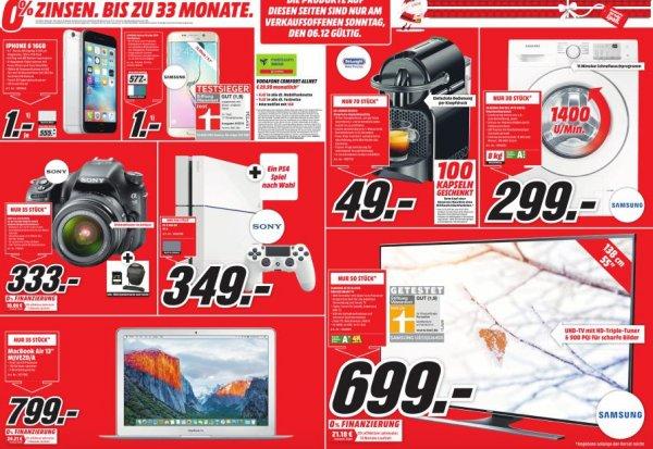 """( Lokal Köln ) Mediamarkt Köln Chorweiler Samsung 55 JU 6450 699€ Mac Book Air 13"""" 799€"""