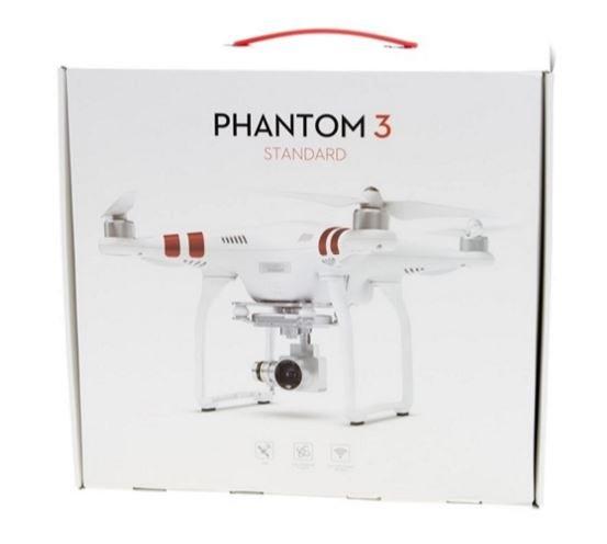 DJI PHANTOM 3 Standard RC Quadrocopter RTF mit HD Kamera