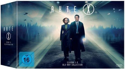 Akte X - Complete Boxset - Season 1-9 Blu Ray für 110,49 € (Thalia, Bol und Buch.de)