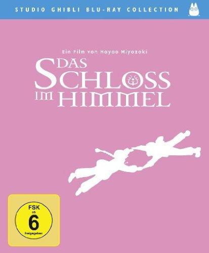 [Amazon DEALS] - Div. Animes Blu-ray ( z.B. Schloss im Himmel, Prinzessin Mononoke,..)