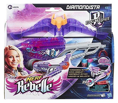 [Amazon.de - Plusprodukt] Nerf Rebelle Mini Maven und Nerf Rebelle Diamondista ab 4,22 Euro