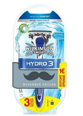 (amazon) Rasierer Hydro 3 (3,95 €) und Hydro 5 (5,98€) jeweils mit 3 Klingen und andere Rasurprodukte bis -34€