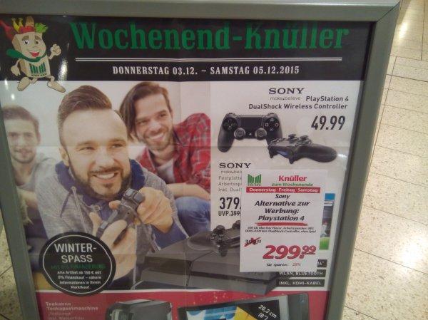 [Lokal Marktkauf Sundern] Sony Playstation 4 für 299€
