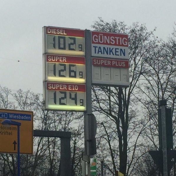 (Lokal Hattersheim) Diesel 1,02€