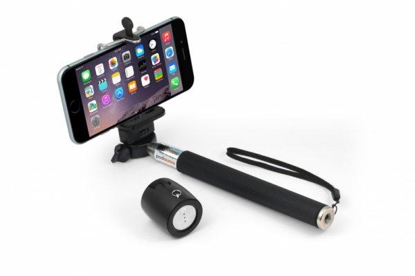 [Notebooksbilliger] Technaxx MusicMan BT-X12  BT Lautsprecher mit Micro & Selfiestick - 4,99€ + 2,99€ Versand