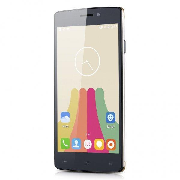 [Amazon] Cubot X12 gold für 90 €: 5'' | LTE Dual-SIM | 960 × 540 px | 1 GB RAM | 8 GB Flash (erweiterbar) | Android 5.1 | Infrarot (Fernbedienung) | 2.200 mAh Akku